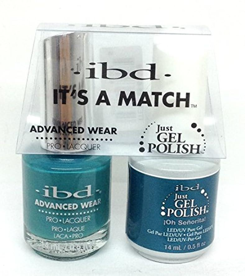 インテリアくすぐったい特許ibd - It's A Match -Duo Pack- Love Lola Collection - Oh Senorita - 14 mL / 0.5 oz Each