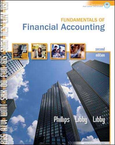 Download Fundamentals of Financial Accounting w/Landry's Restaurants, Inc 2005 Annual Report 0077214552