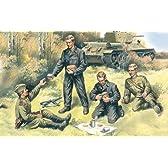 ICM 1/35 ソ連戦車兵 リラックスポーズ WW2