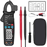 BSIDE ACM81 Digital Clamp Meter 1mA AC Current Pocket True RMS Auto-Ranging Meter Temperature V-Alert Continuity Diode Voltage Ohm Tester
