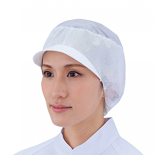 東京メディカル でんでん帽 ツバ付通気型 フリー CA-104A 1箱 50枚