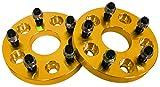 SEIKOH ワイドトレッドスペーサー 2枚組 20mm ゴールド PCD 120 5H M14 P1.5 SPG3120SET2