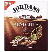 Jordans Absolute Nut Luxury Bars (3x45g) ジョーダン絶対ナットの高級バー( 3X45G )