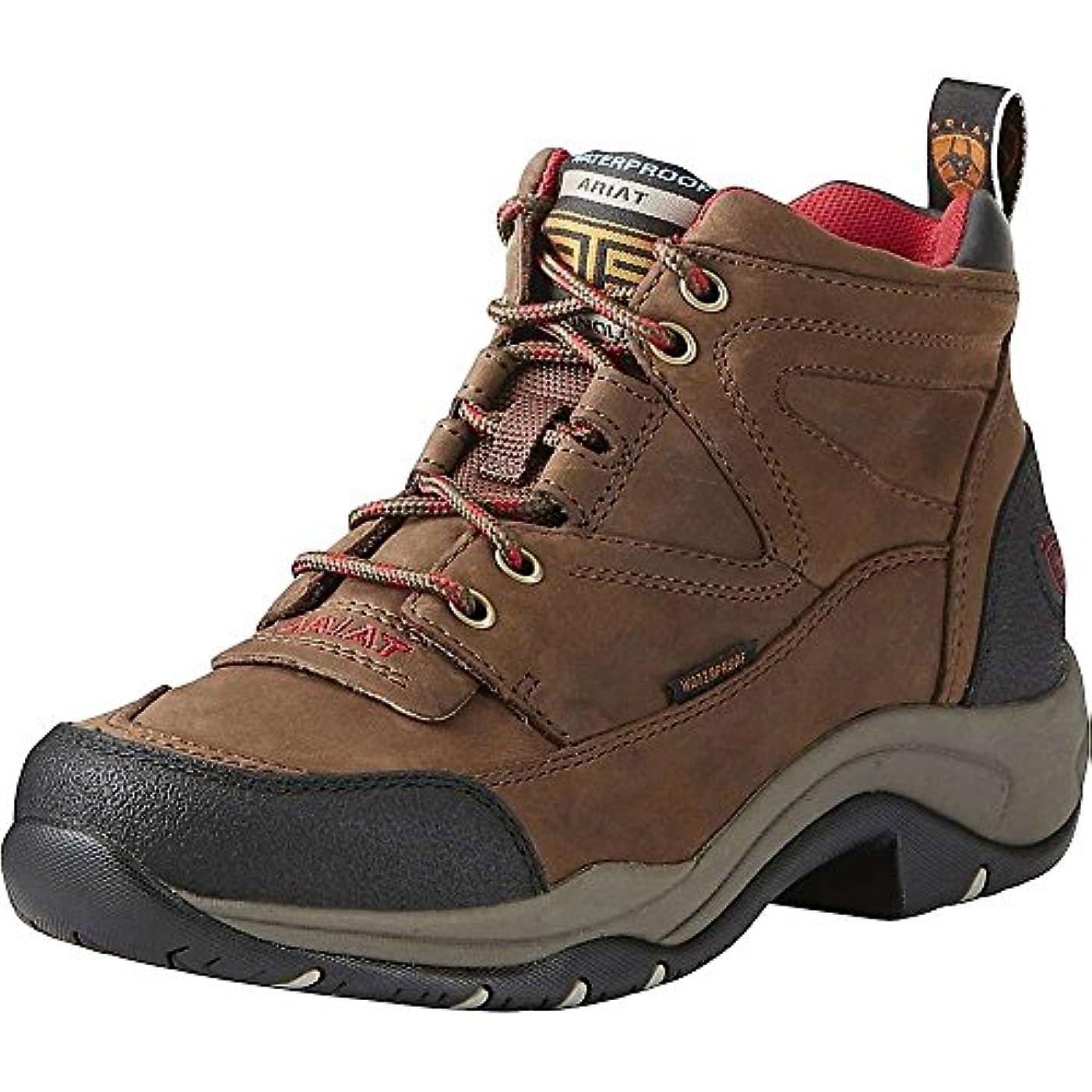 ハッピー初期の速度(アリアト) Ariat レディース シューズ?靴 ブーツ Terrain H2O WP Boot [並行輸入品]