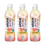 アサヒ飲料 完熟白桃&カルピス オフのご褒美 500ml ×3本