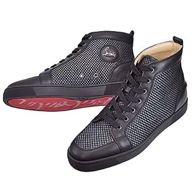 (クリスチャンルブタン)Christian Louboutin スニーカー メンズ ブラック 3140197-CM4V BLACK GREY 39 [並行輸入品]
