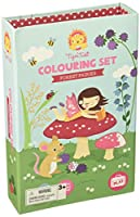 (Forest Fairies) - Tiger Tribe Colouring Set, Forest Fairies Arts and Crafts Kit