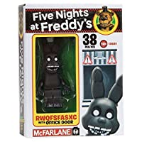 NEW! Five Nights at Freddy's Construction Set - RWQFSFASXC With Office Door - 38 Pieces [並行輸入品]