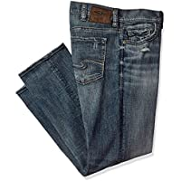 Silver Jeans Co. Men's Big and Tall Grayson Straight Leg Jeans