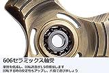 Beyeah ハンドスピナー 青銅色 3枚羽 Hand Spinner 指スピナー 銅 高品質 (メーカー直営店・1年保証付) BH-09