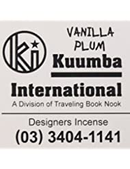KUUMBA (クンバ)『incense』(VANILLA PLUM) (Regular size)