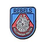 Star Wars - Millenium Falcon, The Last Jedi Blue/Red - Lapel Pins Set