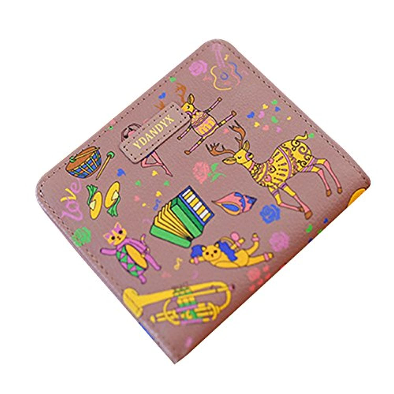 財布 レディース 二つ折り 大容量 小銭入れ コインケース カードケース 写真入れ 小さい財布 人気 かわいい ファスナー付き