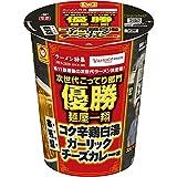 マルちゃん 本気盛コク辛鶏白湯ガーリックチーズカレー味 102g×12個入り (1ケース)