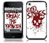 Msic Skins iPhone 3G/3GS用フィルム 12 Stones - Broken iPhone 3G/3GS MSRKIP3G0002