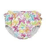 アイプレイ iplay オムツ機能付 水遊び用パンツ スイムダイパー スイミングパンツ 女の子 XL:24ヶ月 White Butterfly