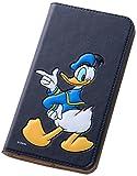 レイ・アウト ASUS ZenFone2(ZE551ML) ディズニー 手帳型ポップアップレザーケース (スタンド機能/ICカードポケット) ドナルドダック RT-DAZ2J/DD