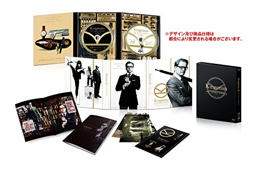 KINGSMAN: THE SECRET SERVICE (2-disc Blu-ray Premium Edition) [World Exclusive Artwork Digipack + Slip Box + Book; Limited Edition Japan Exclusive]