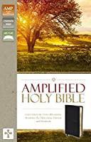 Holy Bible: Amplified, Black Bonded Leather: Captures the Full Meaning Behind the Original Greek and Hebrew