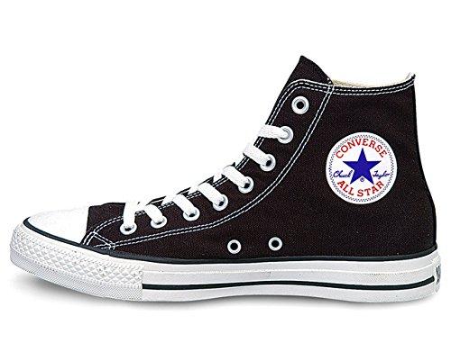 [コンバース] CONVERSE CANVAS ALL STAR HI キャンバス オールスター ハイ 定番 メンズ (US8.5/27cm, BLACK)
