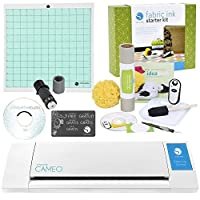 Silhouette Digital Craft Cutter with Fabric Ink Starter Kit [並行輸入品]