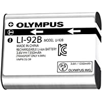 Olympus LI-92B - Camera battery Li-Ion 1350 mAh - for Stylus SH-2, SH-3, Stylus Tough TG-3, TG-4, Stylus Traveller SH-1, SH-2, Traveller SP-100