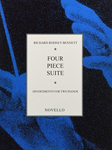 ベネット:4つの小品組曲/ノヴェロ社/2台ピアノ4手...