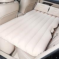 SUV車のエアベッドのキャンプ旅行の膨張のマットレス電気のポンプと枕、ベージュとポータブルより厚いセックスベッド