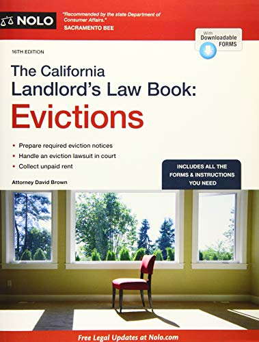 Download The California Landlord's Law Book + Website: Evictions (California Landlord's Law Book Vol 2 : Evictions) 1413320988