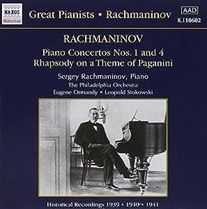 Rachmaninov: Piano Concertos No. 1 & No. 4