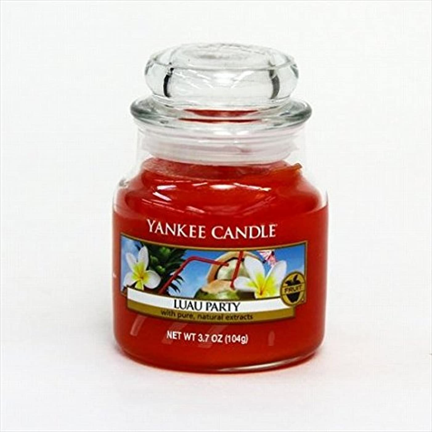 怖がらせる牧師巡礼者kameyama candle(カメヤマキャンドル) YANKEE CANDLE ジャーS 「 ルーアウパーティ 」 キャンドル 64x64x88mm (K00305223)