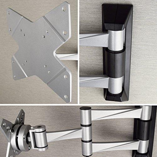 STARPLATINUM 高品質 23-42インチ対応 液晶テレビ壁掛け金具 TVセッターFS NA113 Sサイズ シルバー【液晶テレビ壁掛け】