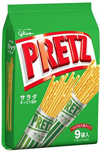 江崎グリコ プリッツサラダ<9袋> 143g