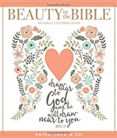 Beauty in the Bible: An Adult Coloring Book Premium Edition (Christian Coloring Bible Journaling and Lettering: Inspirational Gifts)【洋書】 [並行輸入品]