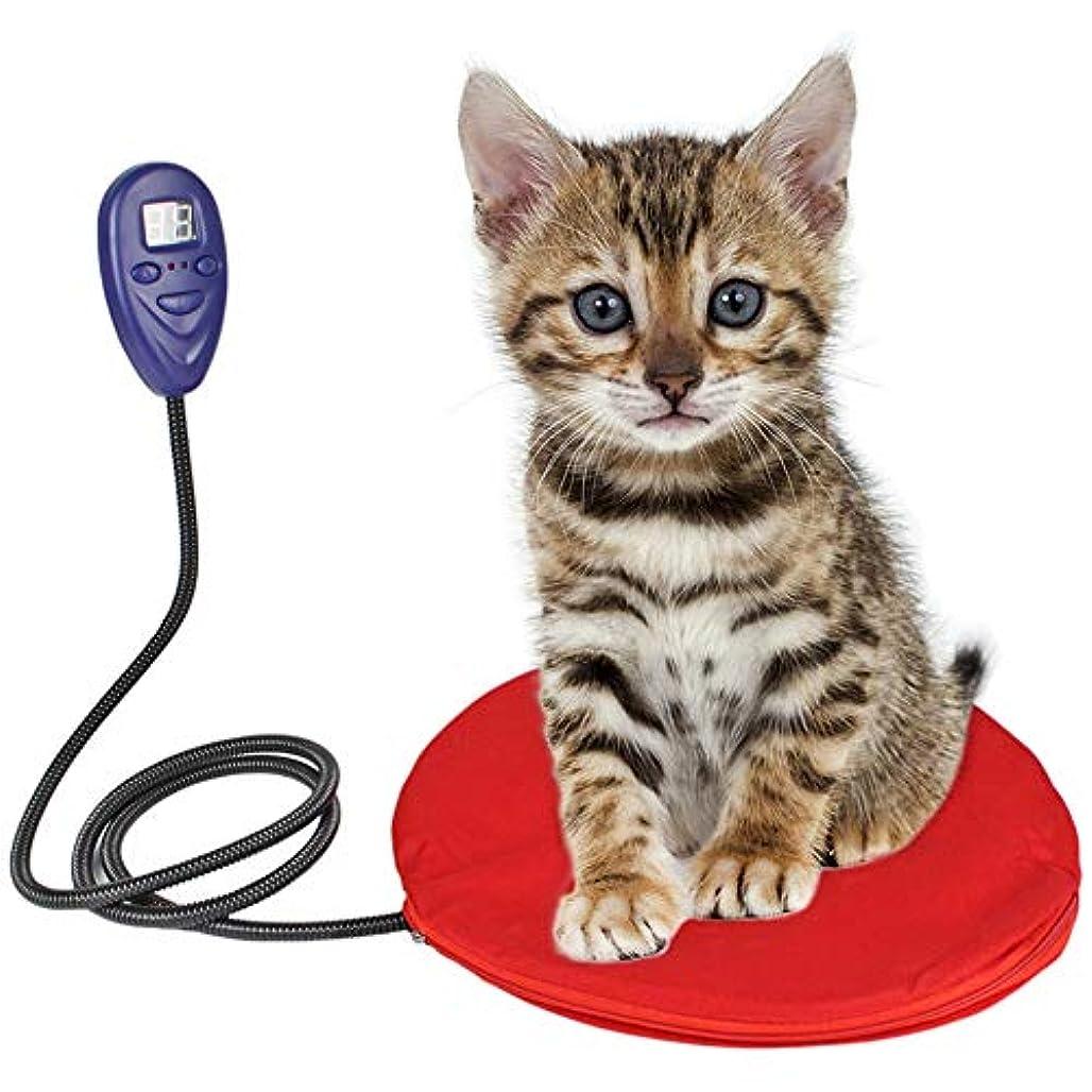 気づく消化テニスペット用ホットカーペット犬猫ヒーターマットテキオンヒペットヒーターヒーターマット犬猫電気ヒーター 防寒 ホットマット犬 猫 中小型 あったか,赤