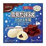 ロッテ 雪見だいふく とろける至福生チョコレート 27ml×9本×8袋