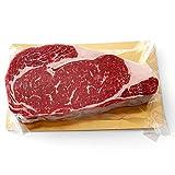 リブ ステーキ 約400g 厚切り約3cm!ナチュラルビーフ100%!リブアイロール ニュージーランド産 BBQにもオススメ