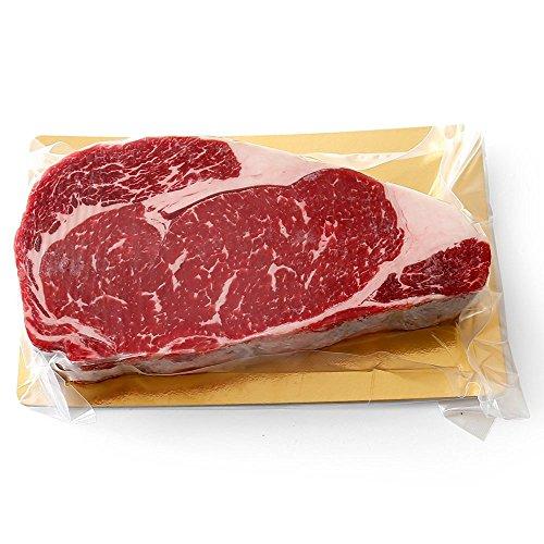 『リブ ステーキ 約400g 厚切り約3cm!ナチュラルビーフ100%!リブアイロール ニュージーランド産 BBQにもオススメ』のトップ画像