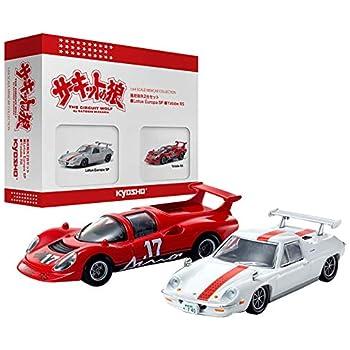 京商 1/64 サーキットの狼 風吹裕矢2台セット (Yatabe RS、Lotus Europe SP) 完成品