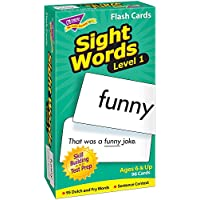 トレンド 英単語 フラッシュカード 目で見て学ぶことば レベル1 Trend Flash Cards Sight Words Level 1 T-53017