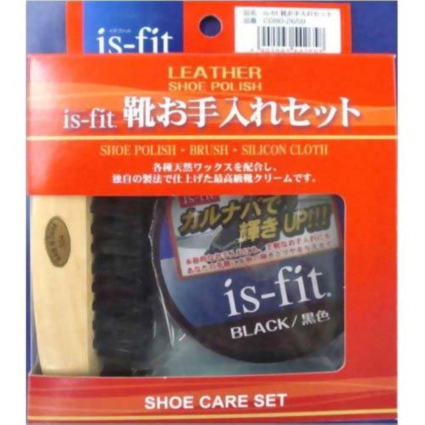 フロークレアスラダムis-fit(イズフィット) 靴お手入れセット