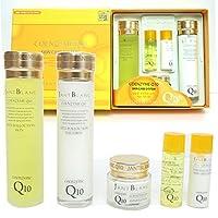 [Jant Blanc] コエンザイムQ10スキンケア3个(5アイテム)/Coenzyme Q10 Skin Care 3pcs(5item)/植物エキス/水分/韓国化粧品/botanical extracts/moisture/Korean Cosmetics [並行輸入品]