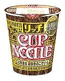 日清 カップヌードル リッチ 松茸薫る濃厚きのこクリーム 89g×12個