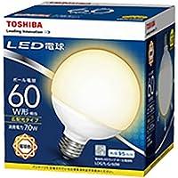 東芝ライテック LED電球 (ボール電球形・全光束730lm/電球色相当・口金E26) LDG7L-G/60W LDG7L-G/60W