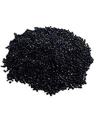 Vosarea ラフなブラックトルマリンクリスタルジュエリー装飾用生ラフストーンテキスタイルコーティング毎日の使用電子50g