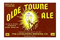 """"""" Olde Towne Ale (キャンバス12x 18)"""