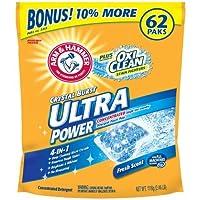 明るく。Arm & Hammer Ultra Power Oxiclean Paks Fresh Scent (5pk)