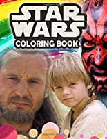 Star Wars Coloring Book: Star Wars Jumbo Coloring Book With Amazing Images For All Ages