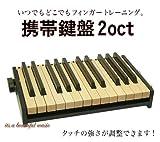 携帯鍵盤(トレーニングキーボード) 2オクターブモデル