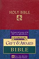 Holy Bible: New Revised Standard Version, Gift & Award, Burgundy